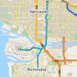 Route N19 Downtown Surrey Central Station NightBus TransitDB