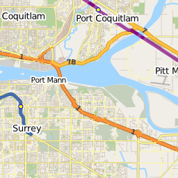 Route 375: White Rock / White Rock South / Guildford — TransitDB
